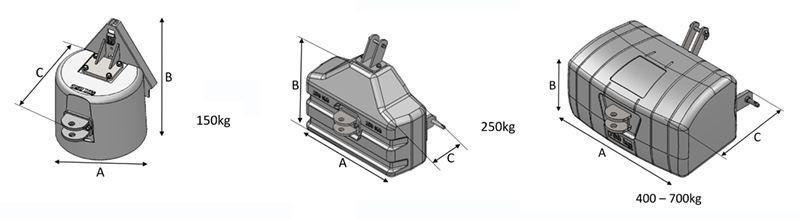 Plan Masses micro tracteurs